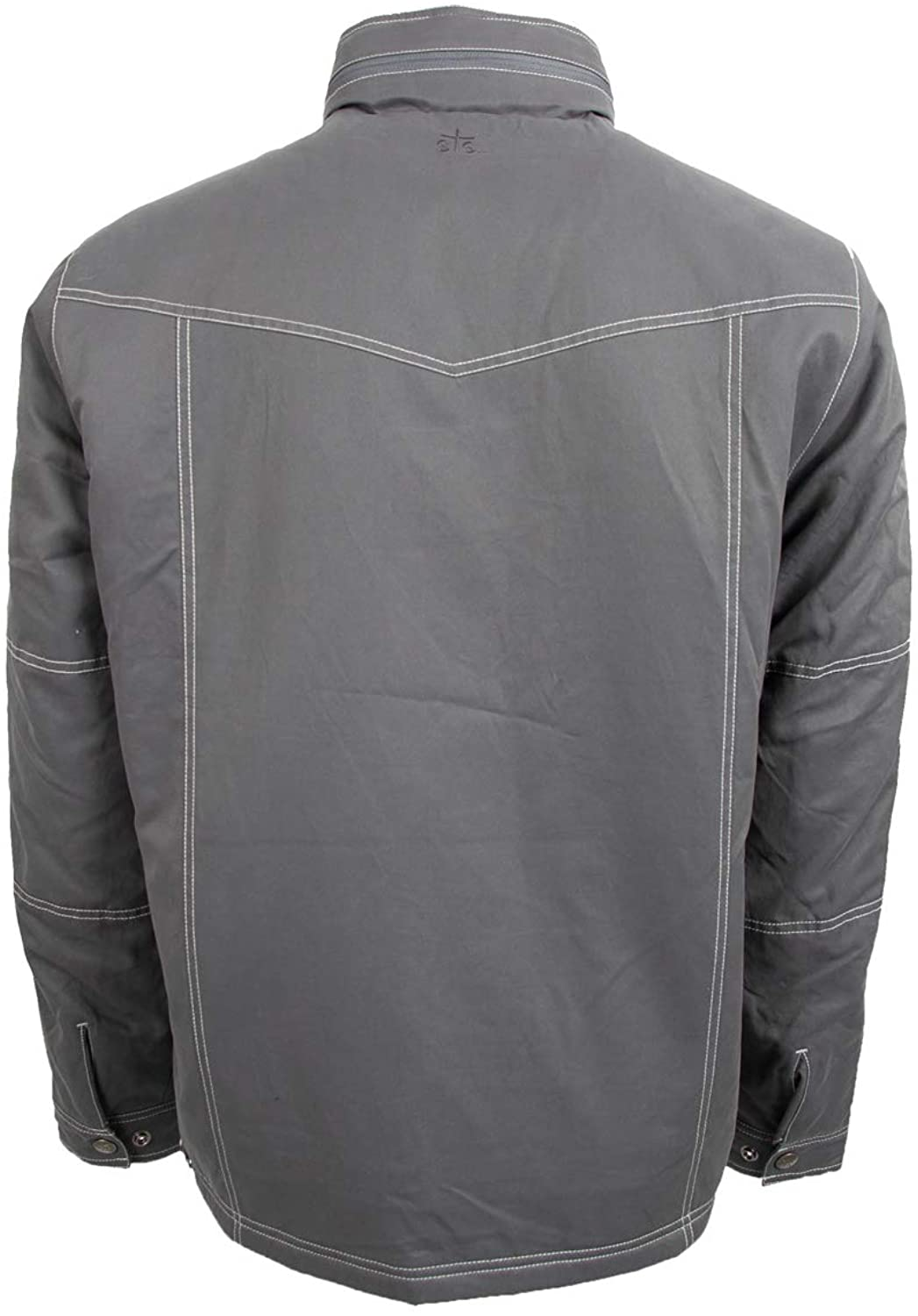 Sts Ranch Wear Mens STS Ryder Steele Grey Work Coat