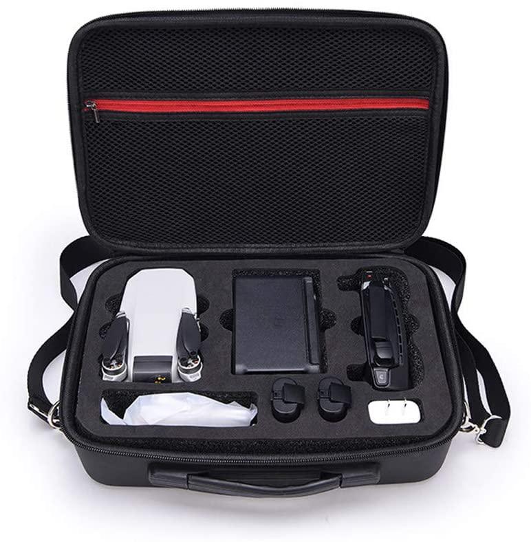 Wenjaun Wenjaun Carrying Case Compatible for DJI Mavic Mini Drone, Scrush&Scratch-Proof,Storage Bag Portable Shoulder Bag Durable Handbag for DJI Mavic Mini Drone (Black)