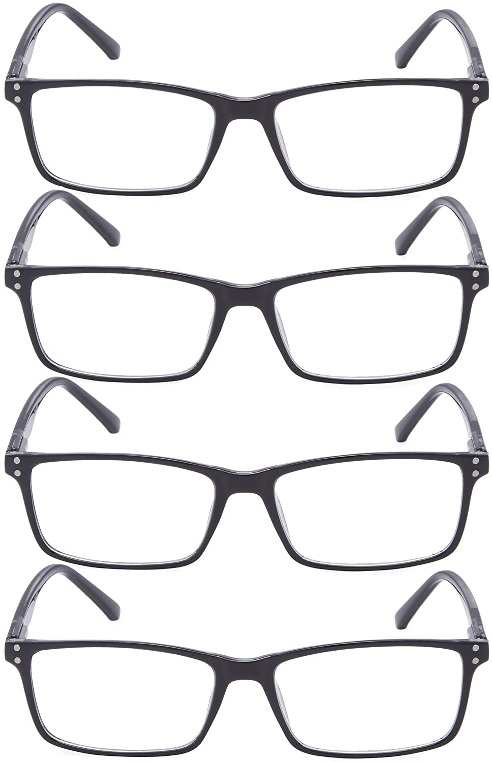 Reading Glasses 4 Pairs Design Readers Women Men Reading Eyeglasses