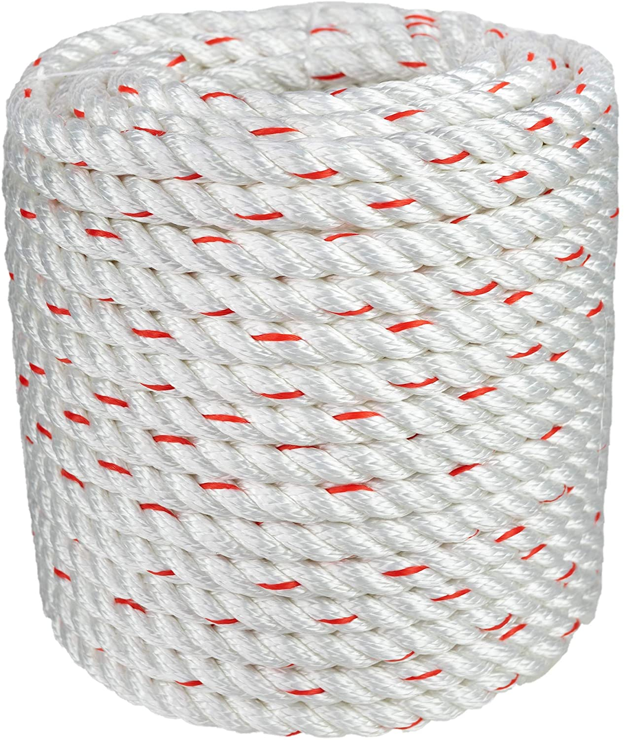 Arborist Bull Rope | High Strength Polyester | Tree Hoist Rigging Line | 1/2 inch x 150 feet