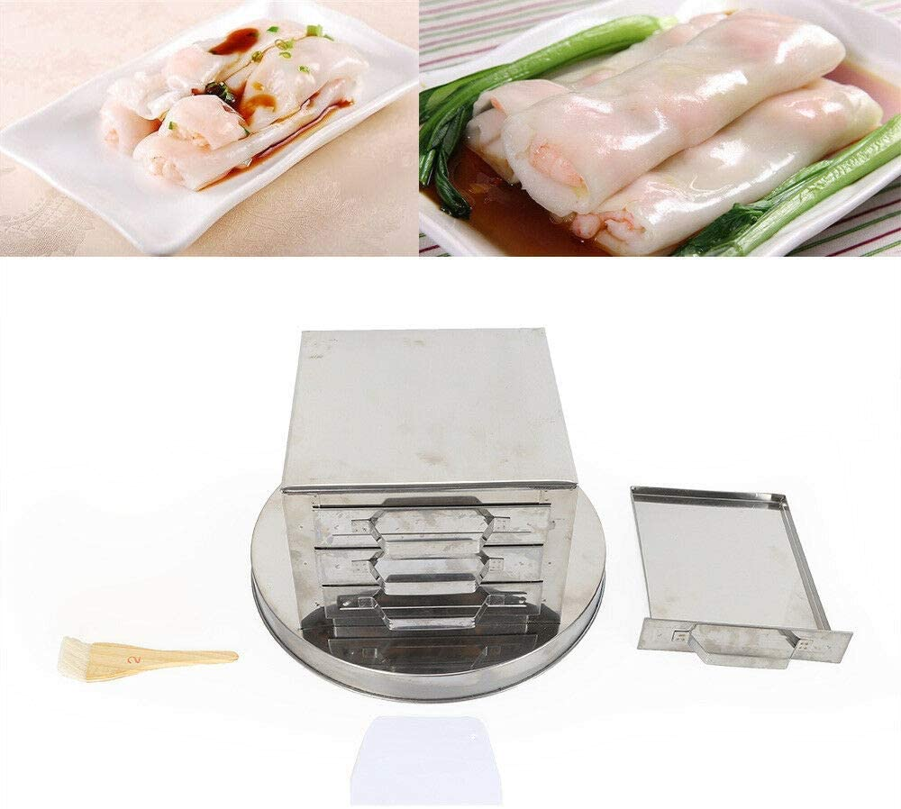 Steamer Kitchen Food drawer rice roll Steaming Machine Stainless Steel 2/3 Layer (3 Layer)