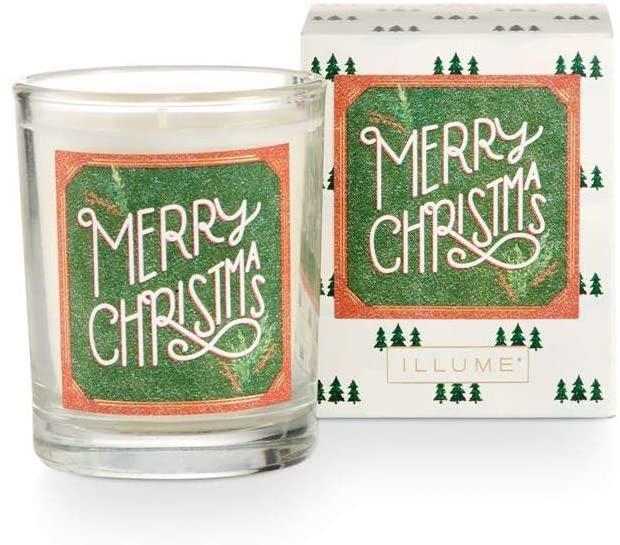 Illume Glad Tidings Merry Christmas Candle, 2.3 oz.