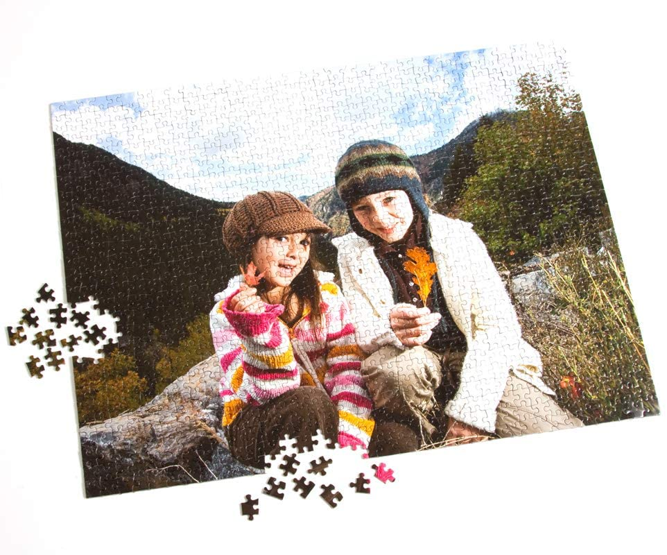 Personalized Custom Photo Jigsaw Puzzle,1000 500 300 Piece for Adults and Kid, Upload Your own Image and Text