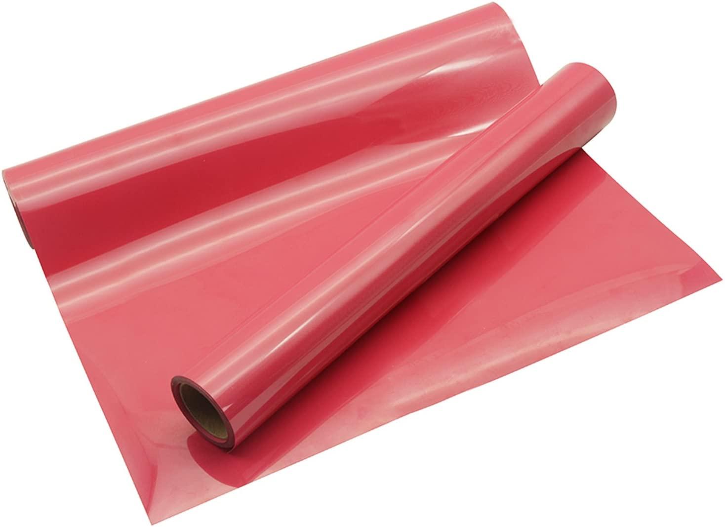 Heat Transfer Vinyl Roll PU HTV Fuchsia 10
