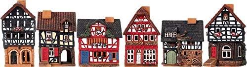 Midene Incense Burners Historic Houses in Lauterbach Street S19 Set