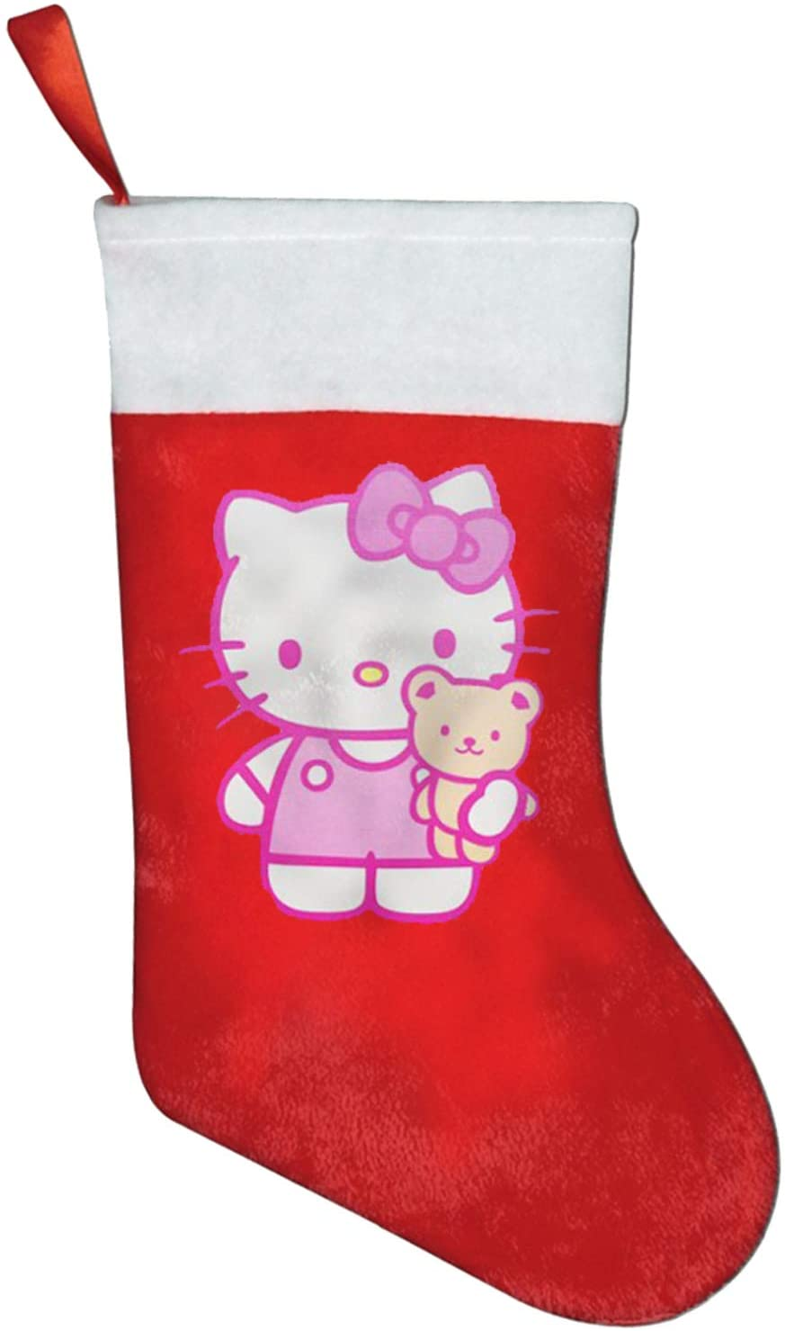 Hello Kitty And Friends Christmas Stockings Santa Socks Decorations Gift Bags Set Party Festival Decoration New Year Gift
