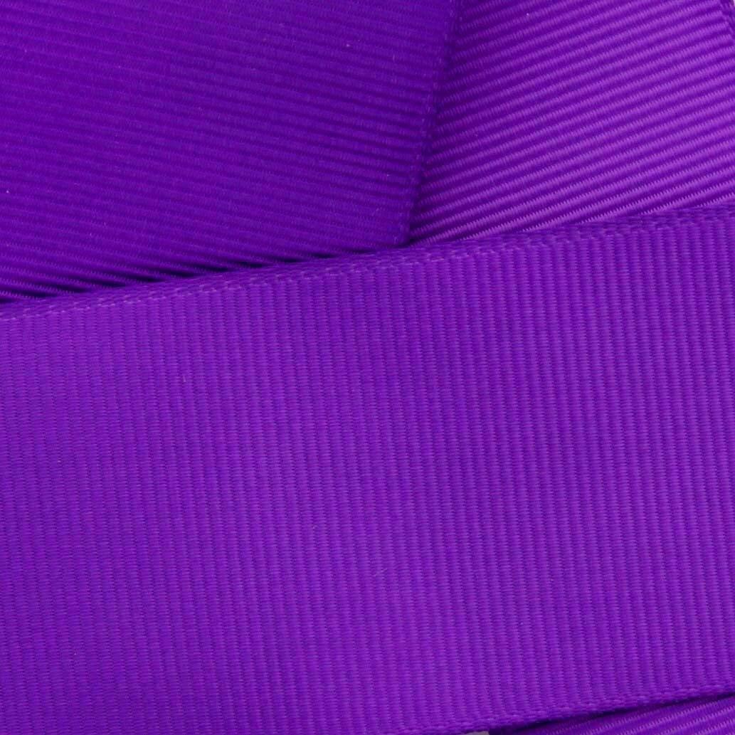 1.5 Purple Grosgrain Ribbon Solid 10 Yard