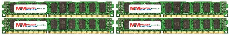 MemoryMasters 32GB (4X 8GB) DDR3 PC3-12800 1600MHz SODIMM 204-Pin Laptop Memory 9-9-9-25 with Blue Heatspreaders
