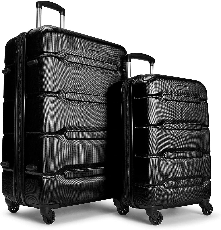 eBags Velas 2pc Luggage Set (Black)