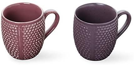 storeindya Ceramic Beer Mug Tea Coffee Milk Mug Studio Pottery Cup Hand Thrown from Clay Home Kitchen Dine Serveware Accessory Thanksgiving Return Gift Christmas Festive Present