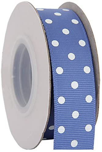 Grosgrain Dots Ribbon by Threadart 7/8