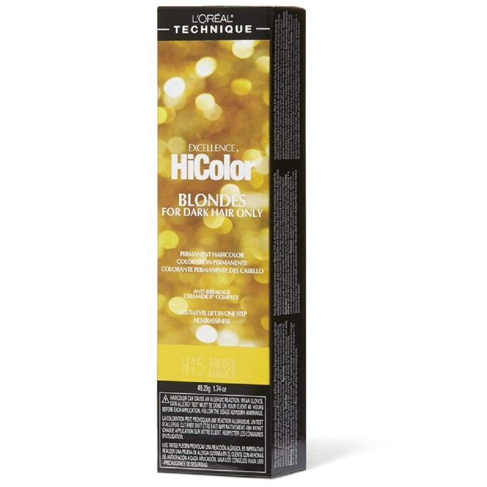 LOreal Excellence HiColor Golden Ginger