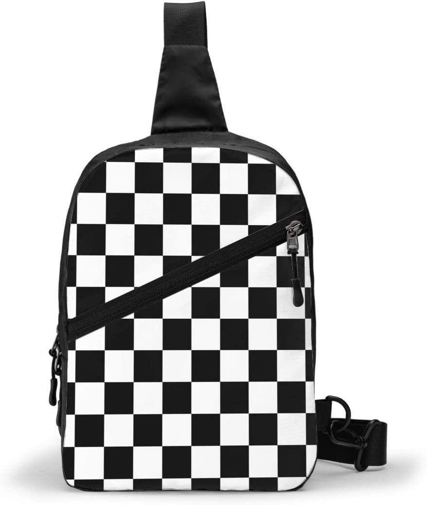1314 Men and Women Casual Sport Rucksack Chest Package Sling Backpack Multipurpose Crossbody Outdoor Shoulder Bag Travel Hiking Daypack
