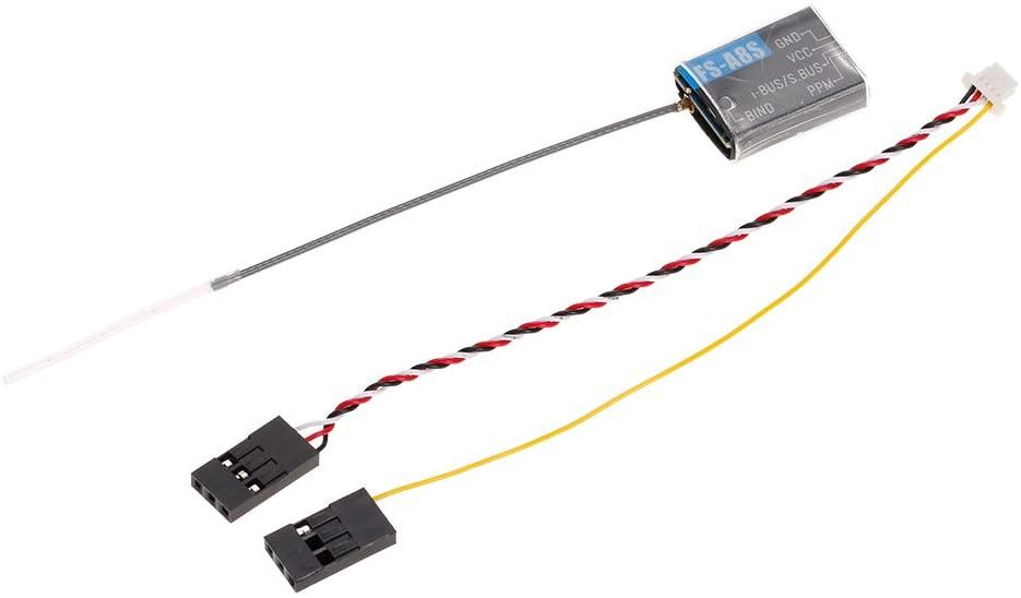 GoolRC Flysky FS-A8S Receiver Mini 8CH Receiver PPM i-Bus SBUS Output for Flysky FS-i6S FS-i6X FS-i10 FS-TM10 RC Transmitter Controller Drone