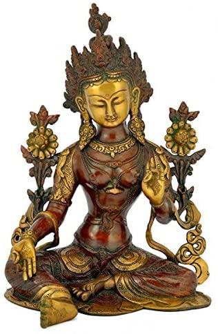 Gangesindia Saviour Goddess Tara Brass Statue