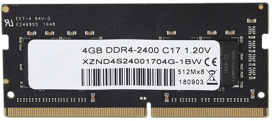 T angxi Universal DDR4 Laptop Memory, Fully Compatible RAM 8GB DDR4 2400MHz 260Pin Laptop Motherboard Dedicated Memory for Samsung/Hynix/Toshiba
