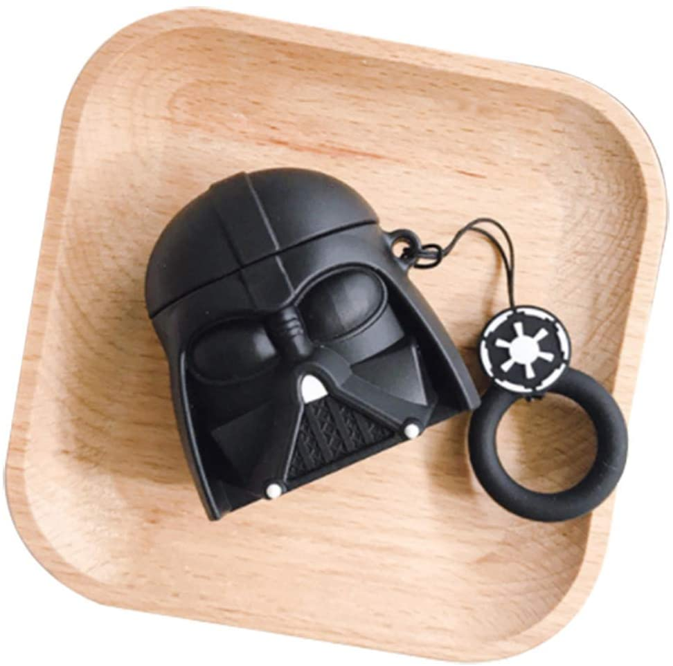 Creative Star-Wars Headphone Case for Apple Airpods 1/2-Silicone Protective Shockproof Case Cover Skins-01