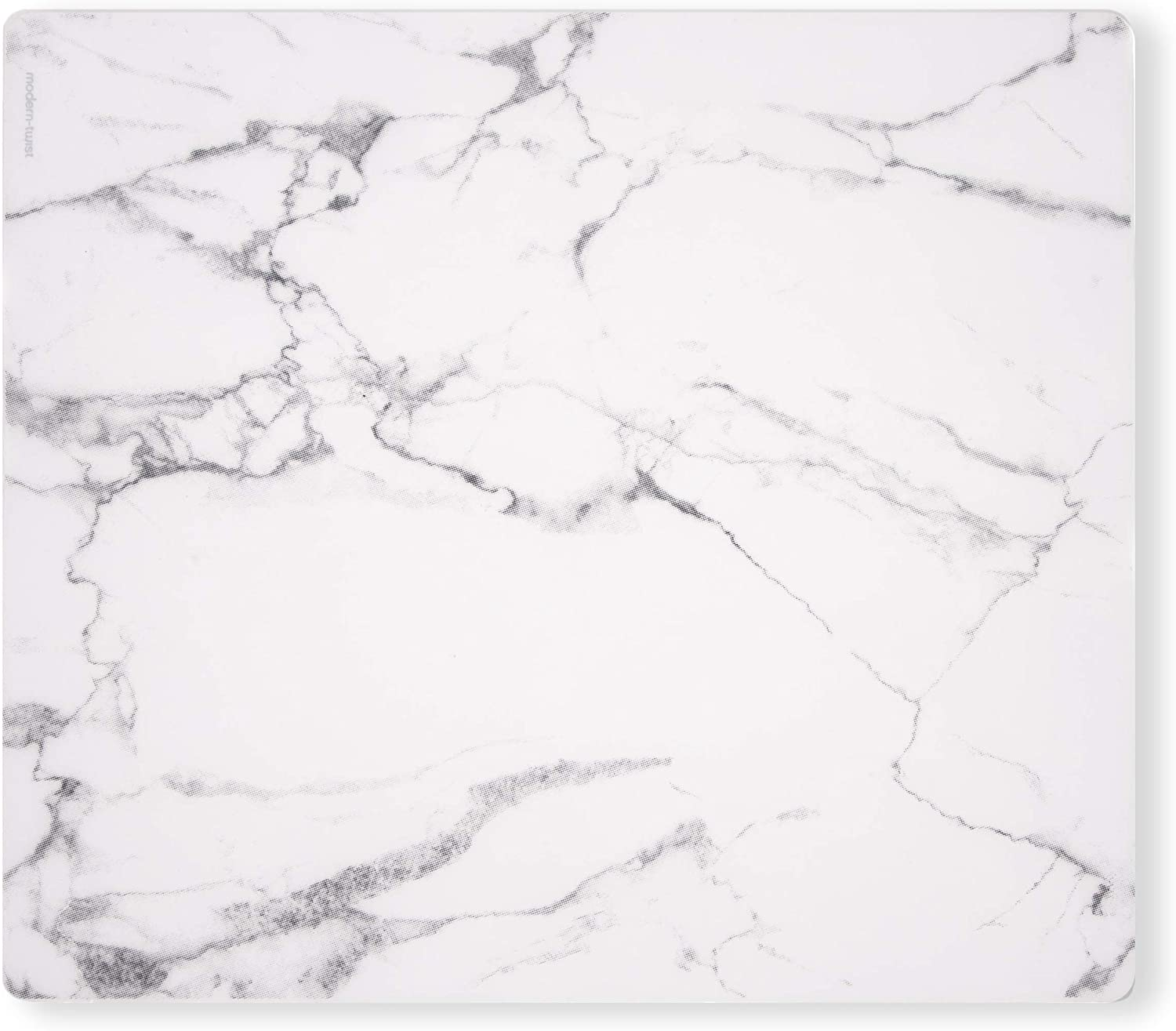modern-twist Marble Print 100% plastic free silicone tabletop, dining, decoration, modern design, Placemat, Gray