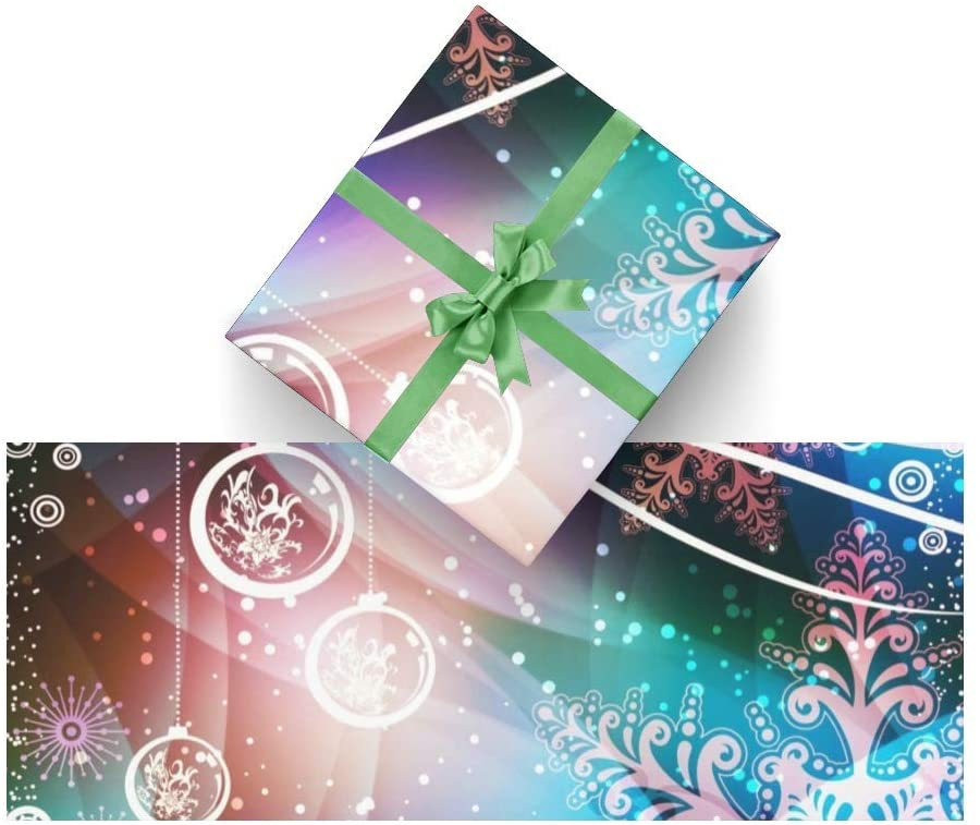 Wrapping Paper Christmas Decoration for Christmas,Birthday,Valentines Day,Bridal or Baby Showers Gift- 3Rolls - 58inch x 23inch Per Roll
