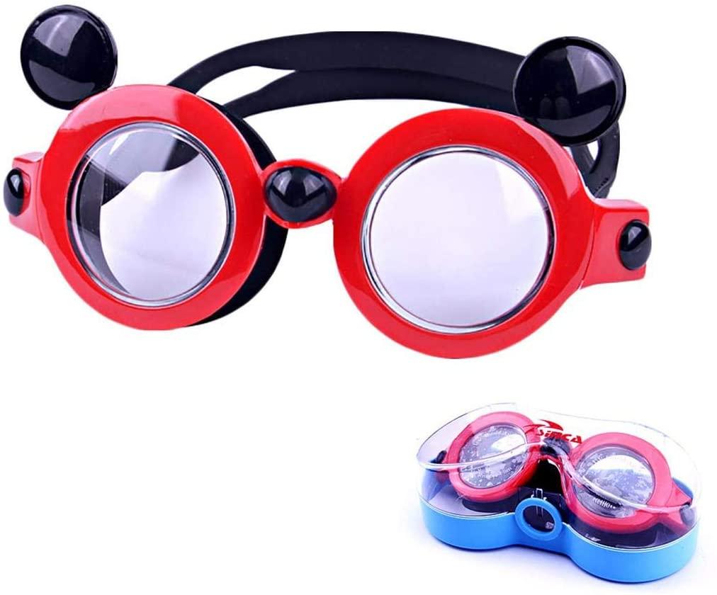 June Sports Kids Swim Goggles- Adjustable Anti-Fog UV for Child Teens Toddler (3-15) SG46
