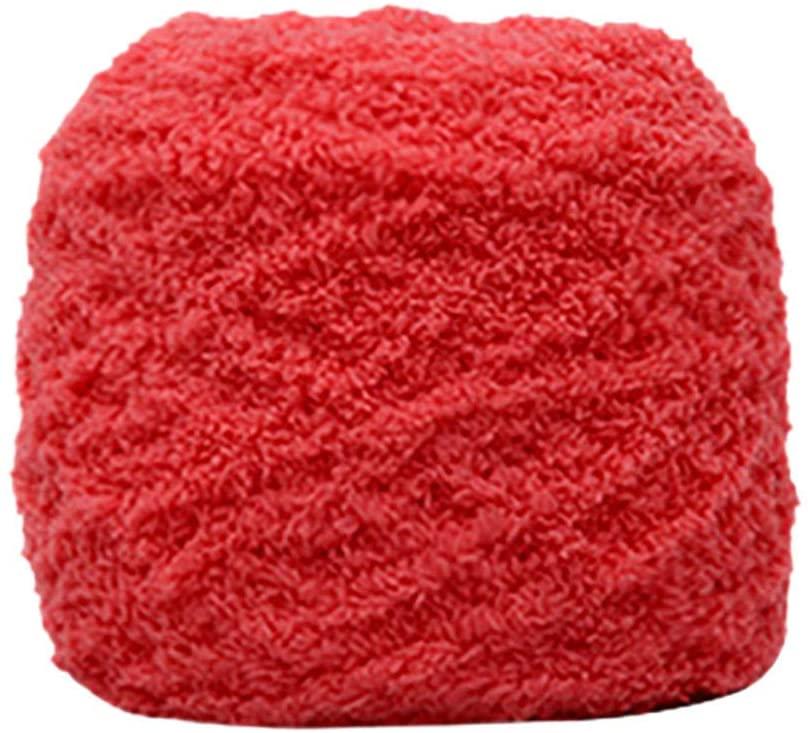 Lemoning Home Textiles, Soft Coral Velvet Velvet Knitting Yarn DIY Shawl Scarf Crochet Thread