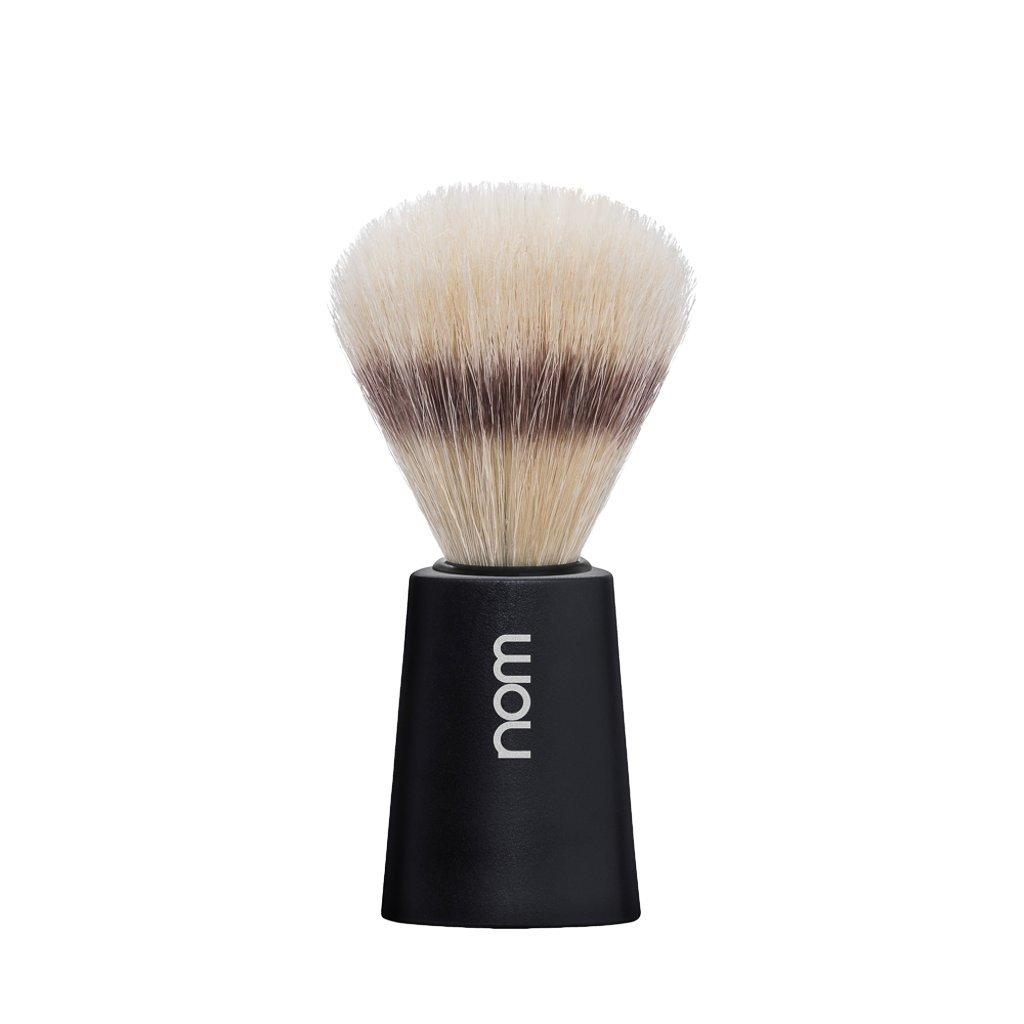 NOM CARL Shaving Brush (Boar's Hair, Black)