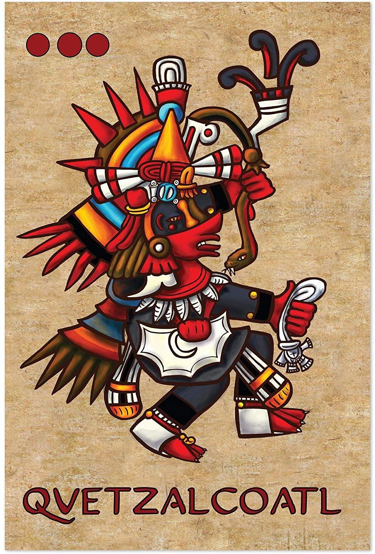 Noir Gallery Aztec God Mexican Mythology 11