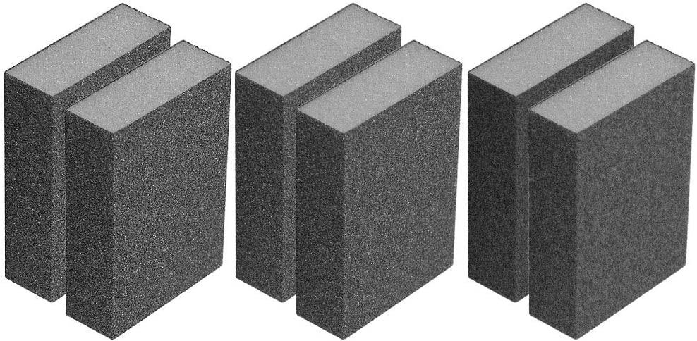 A&H Abrasives 138743, Sanding Accessories, Hand, Block Sanding Sponge Kit, 8-pack