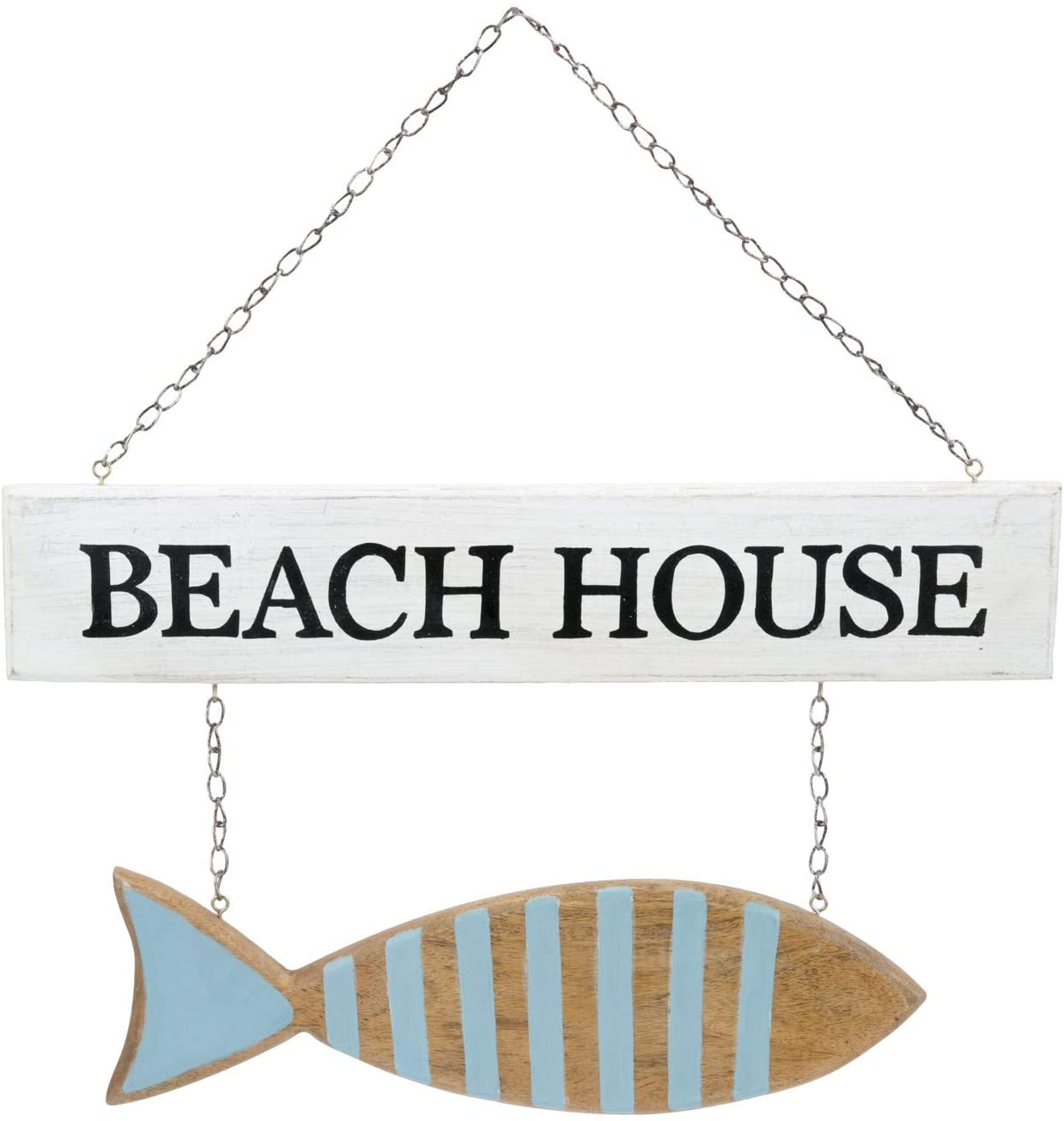 Beachcombers SS-BCS-04573 Beach House with Fish Sign