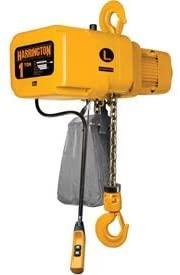 Harrington NER005S-20 NER Electric Hoist w/Hook Suspension - 1/2 Ton, 20' Lift, 29 ft/min, 230V