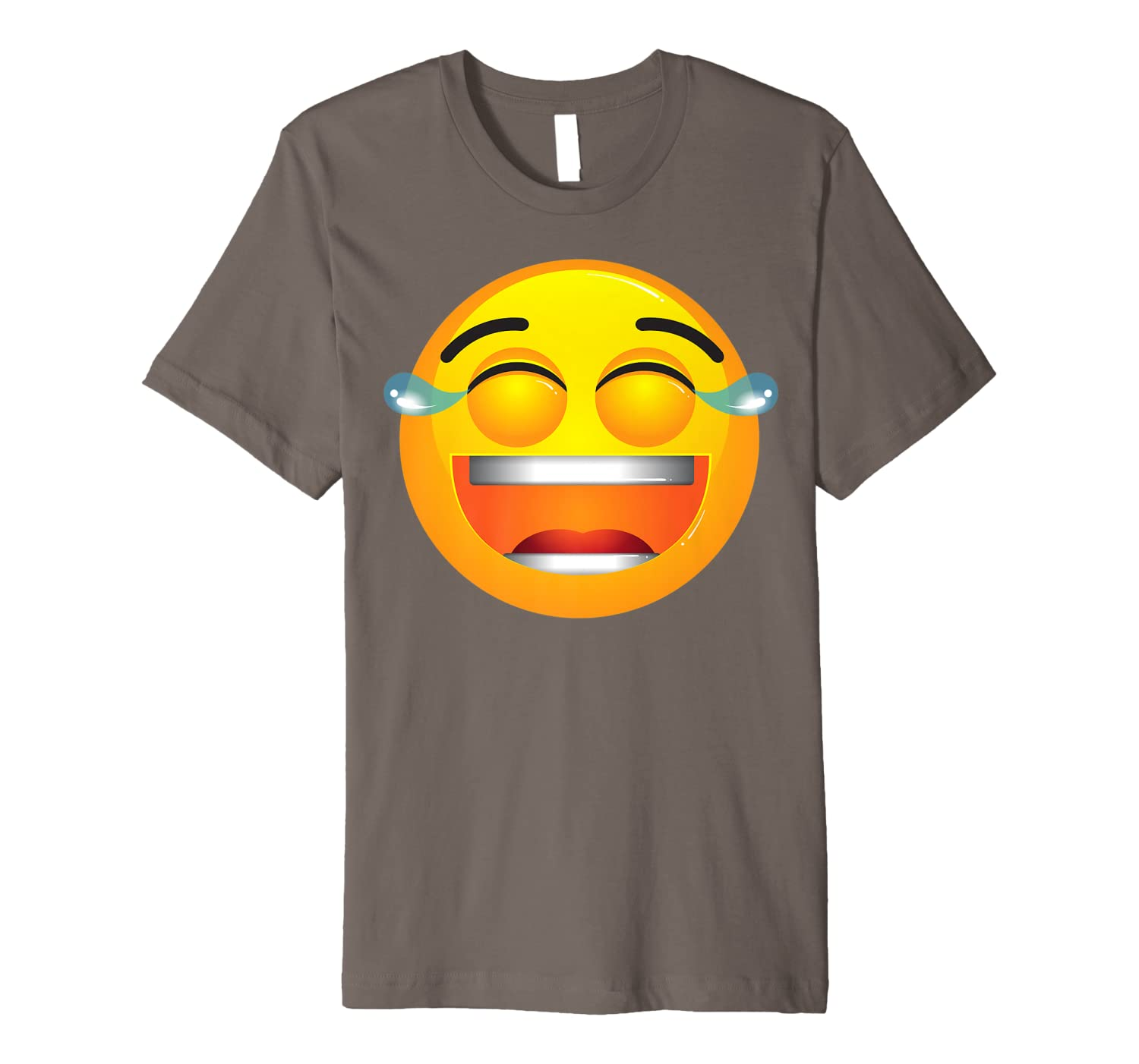 Laughing Tears Emojis Shirt | Cute Happy Laugh Face Tee Gift