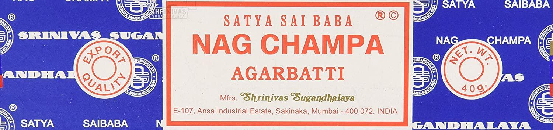 Nag Champa Incense 12/40GM