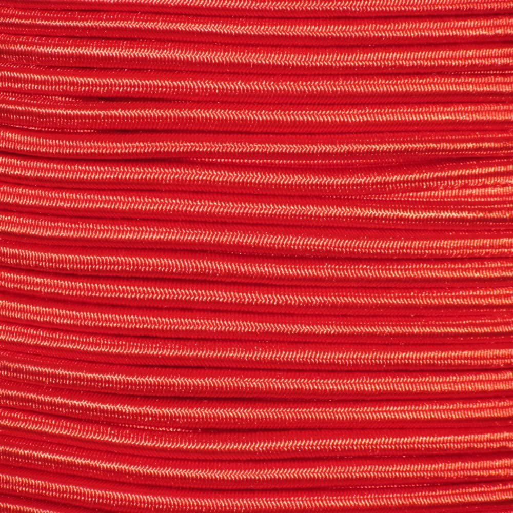 Marine Masters 250ft 1/8 Inch Red Bungee Shock Cord (250 Feet)