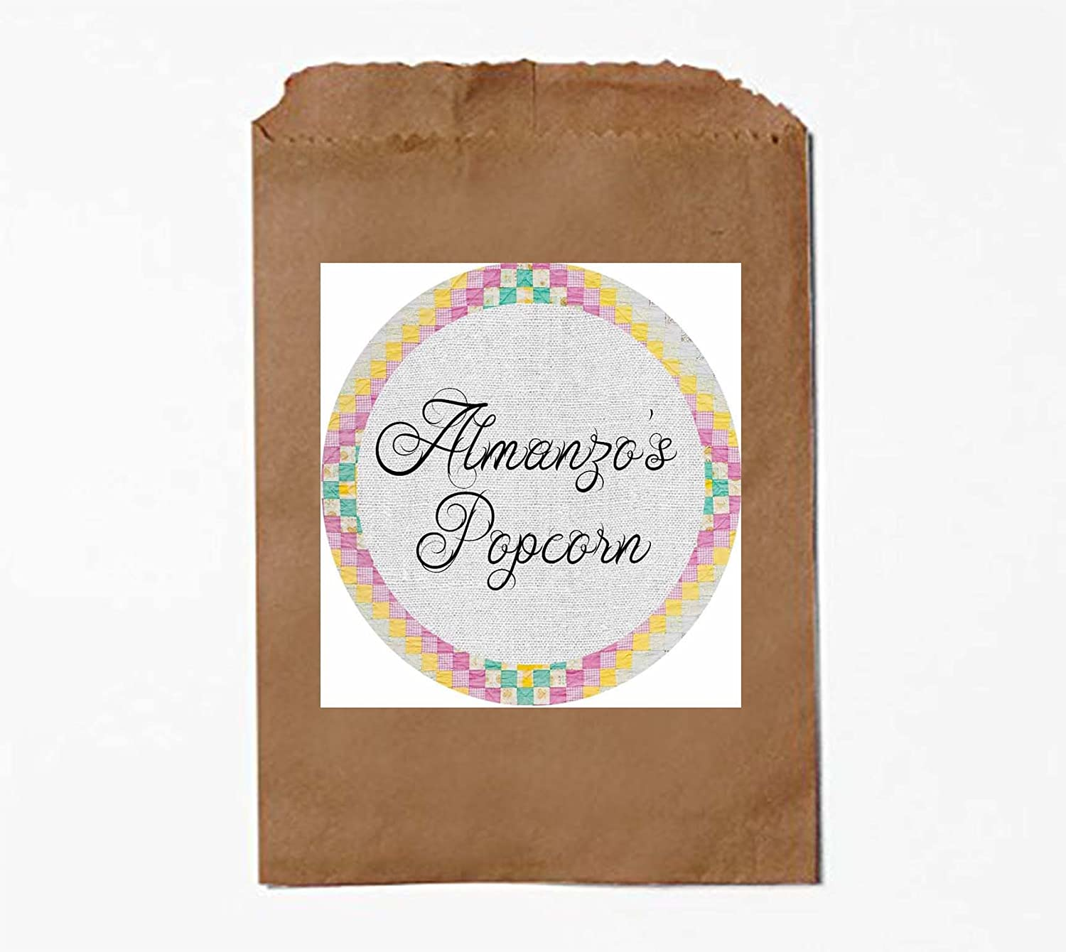 House on the Prairie Western Party Supply Invite and Decor (Popcorn bags)