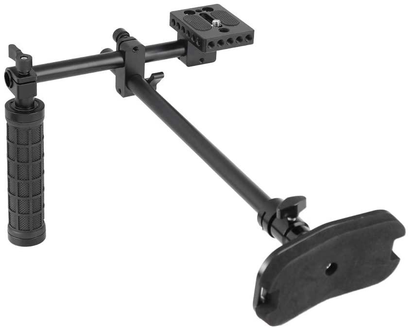 CAMVATE Simple Handy Shoulder Support Stabilizer Rig for DSLR Camera Hand-held Shooting