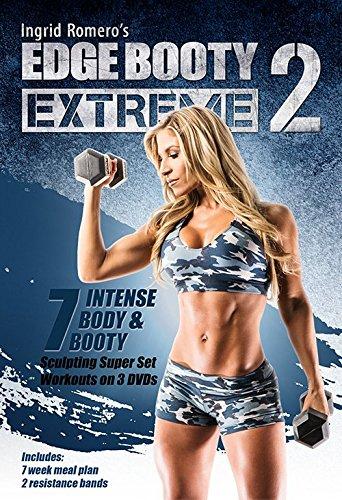 Edge Booty Extreme Volume 2 DVD Set & Bands - Ingrid Romero