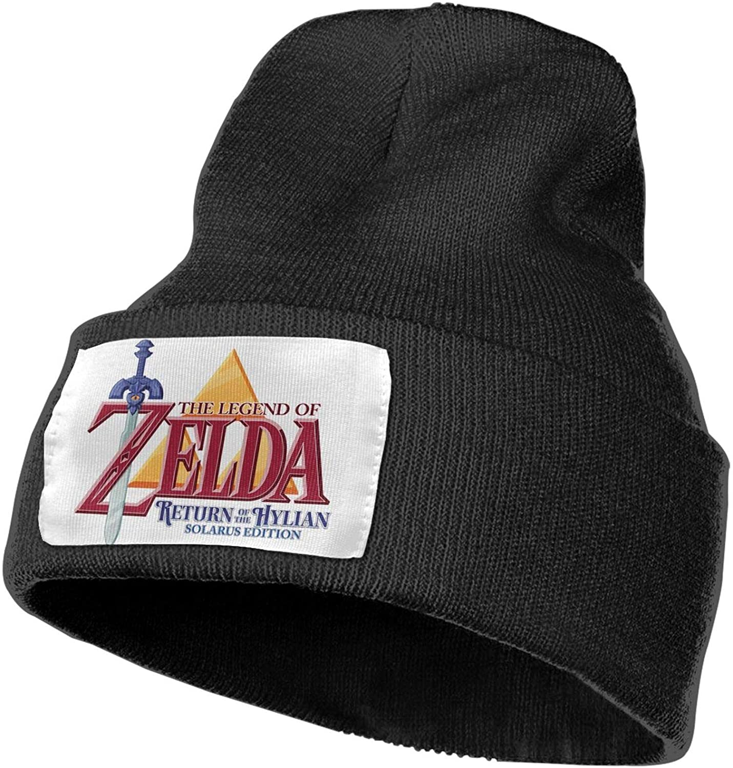 Guoguoding The Legend of Zelda Knitting Hat Beanie Cap Warm Winter Unisex