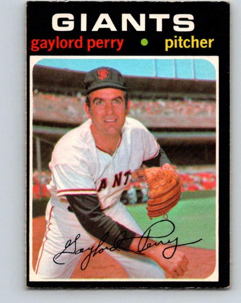 (HCW) 1971 O-Pee-Chee MLB #140 Gaylord Perry San Francisco GiantsV10902