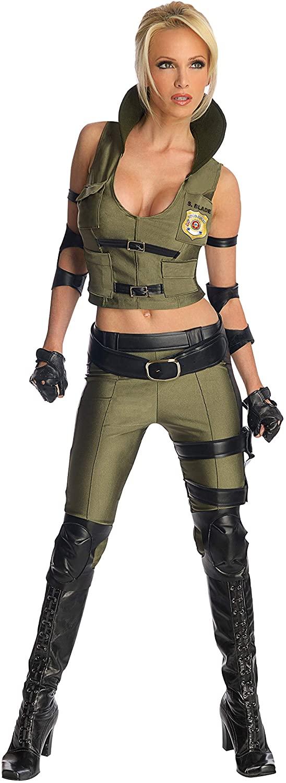 Secret Wishes Women's Mortal Kombat Sonya Blade Costume
