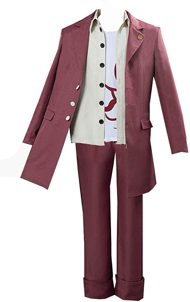Skycos Adult Momota Kaito Cosplasy Costume Full Set Uniform Suit for Halloween Party