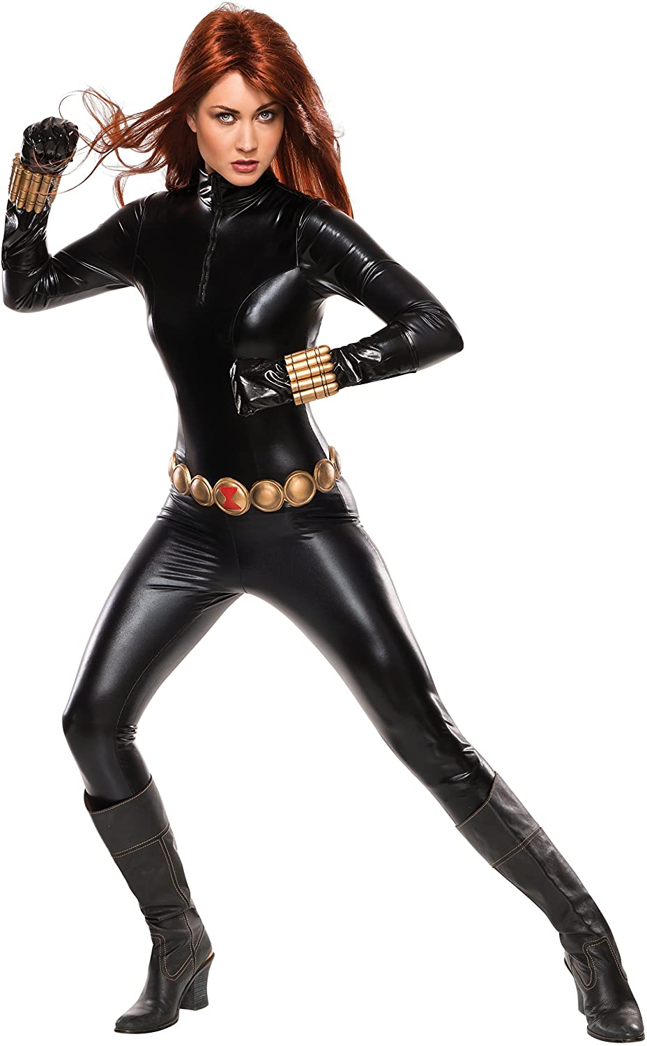 Rubies Costume Co Womens Marvel Universe Grand Heritage Black Widow Costume