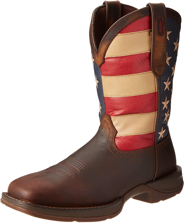 Durango Men's Rebel Western Boot,Brown,9.5 M US
