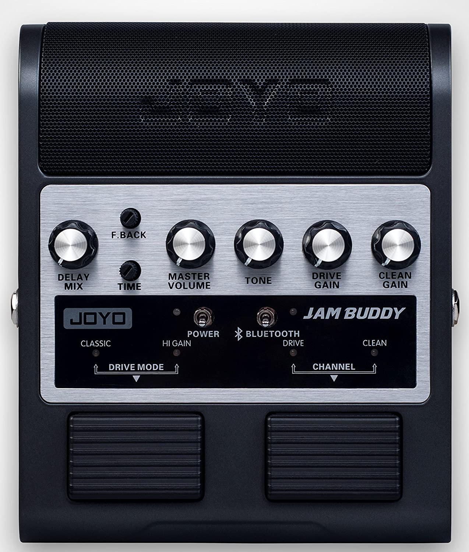 JOYO JAM BUDDY Portable Dual Channel 2x4W Guitar Pedal Amp (Black)
