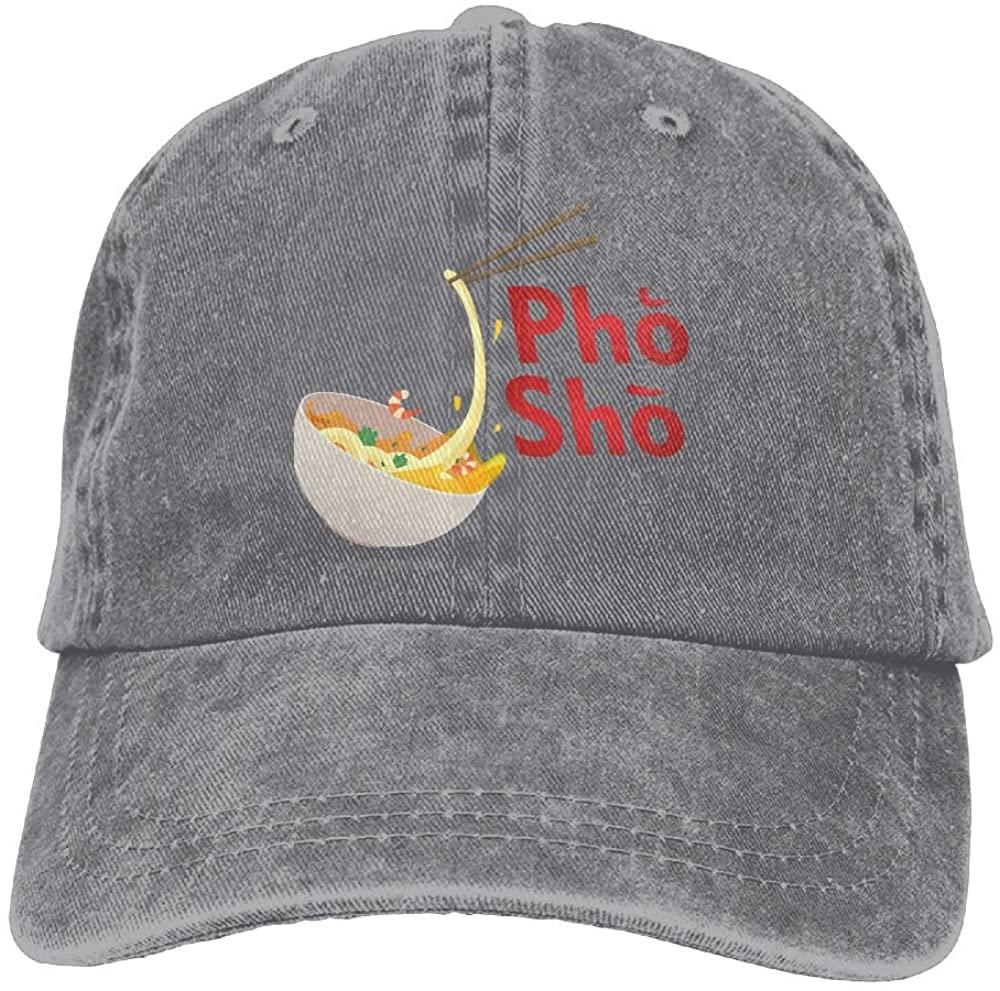 Haibaba Pho Sho (2) Adjustable Cowboy Hat Baseball Cap for Adults