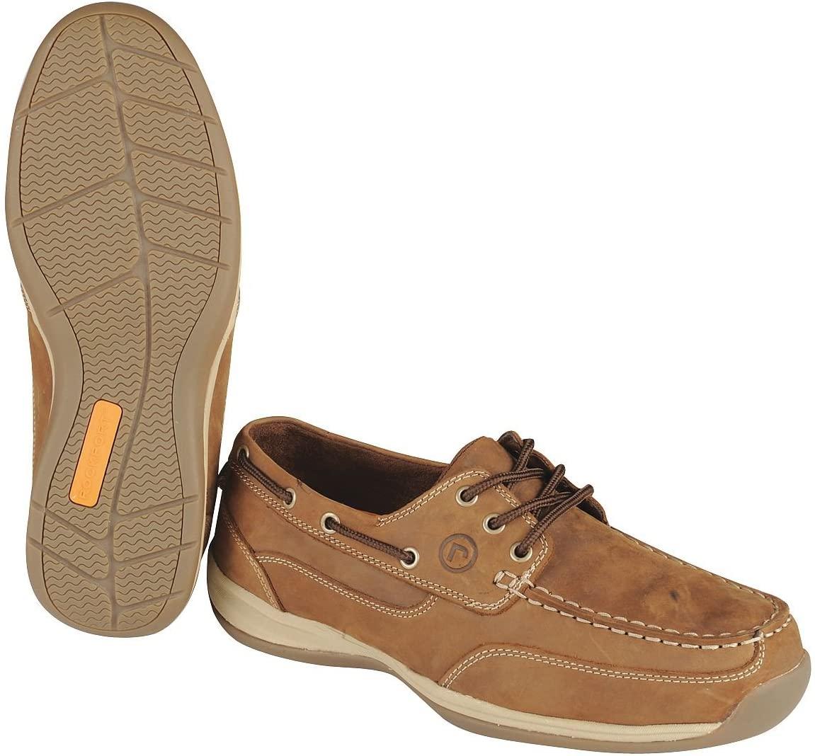 Boat Shoes, STL, Mn, 13W, BRN, PR
