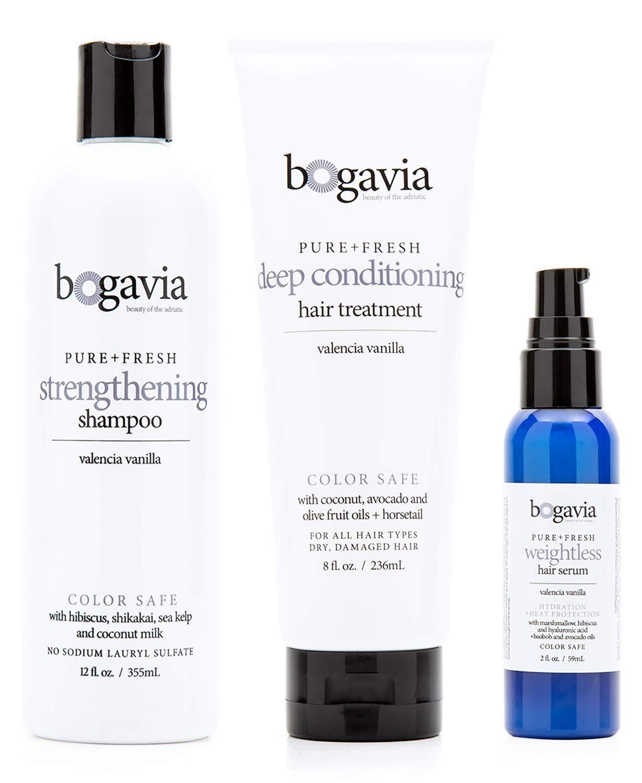 Grow Long, Healthy Hair with Bogavia Vegan Hair Care