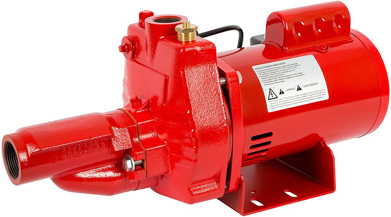 Red lion RJC-50-PREM 1/2 HP Premium Convertible Jet Pump, 115/230V (replaced 602036)
