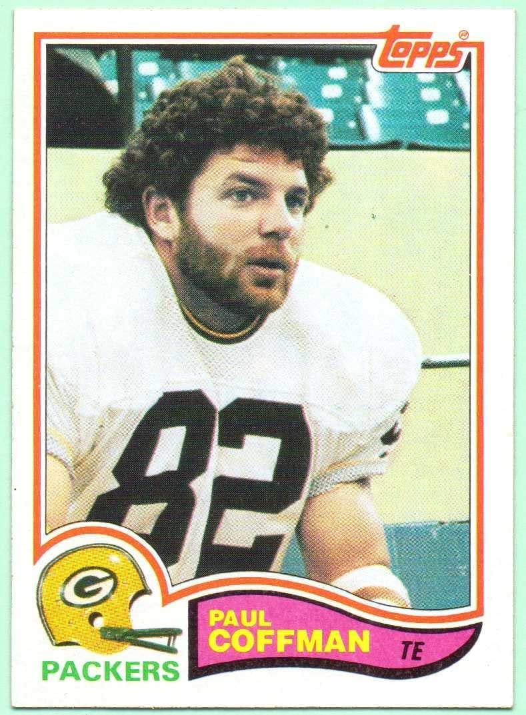 Paul Coffman 1982 Topps #355 - Green Bay Packers