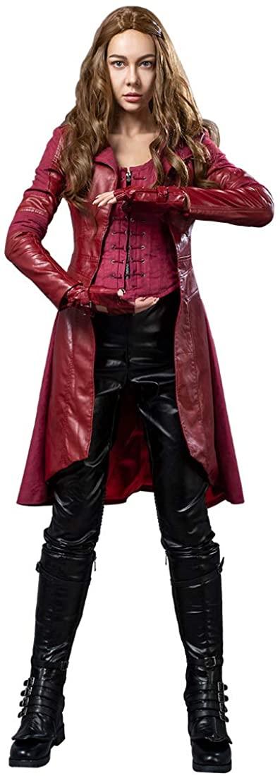 CosFantasy Wanda Maximoff Red Witch Cosplay Costume mp003262