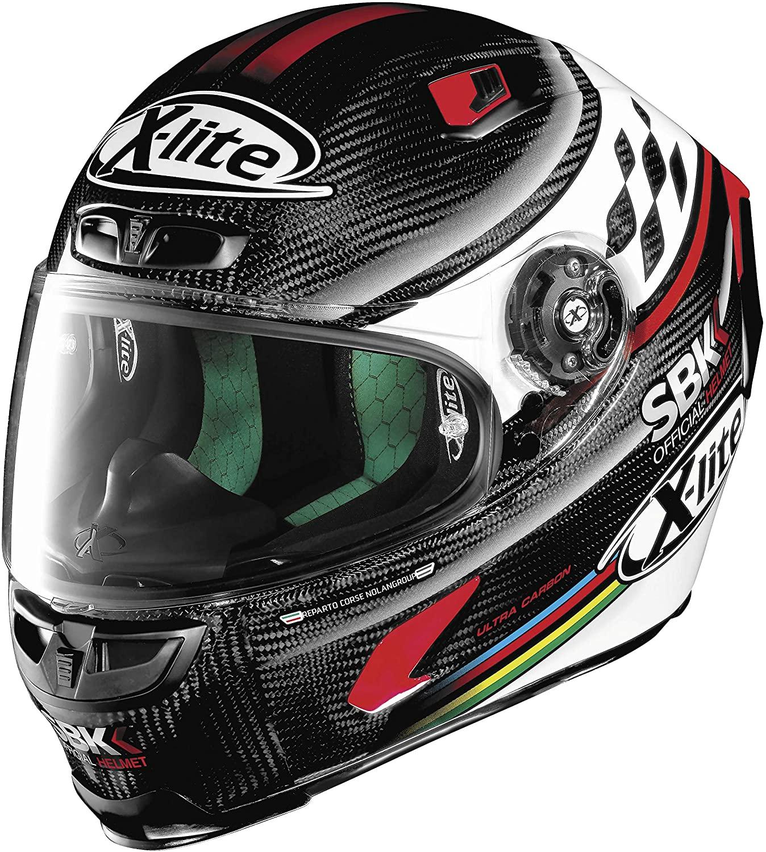 X-lite X-803 Superbike Replica Helmet Superbike (Black, X-Large)